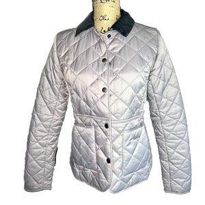 Barbour Grey Polarquilt Jacket
